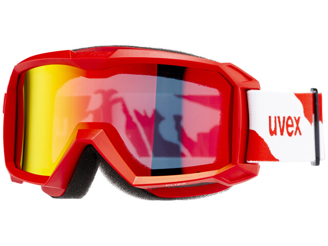UVEX flizz LM goggles Kinderen rood